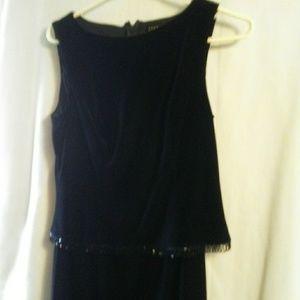 WT158 Teddi 6 Black Formal Holiday Gown